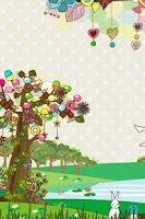 Screenshot of sweet tree LWallpaper[FL ver.]