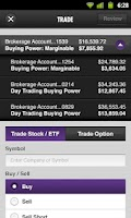Screenshot of Scottrade® Mobile App