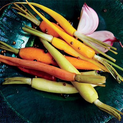 Pickled Carrots with Tarragon