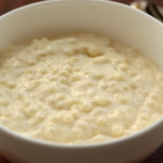 Vanilla Lemon Tapioca Pudding
