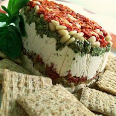 Pesto, Sun-dried Tomato And Cream Cheese Spread