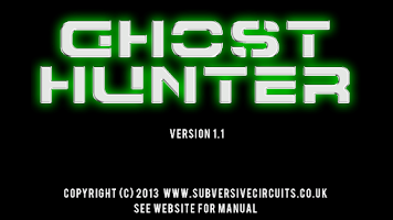 Screenshot of Ghost Hunter 1.1