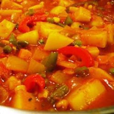 Musaman Vegetable Curry