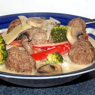 Green Curry Lamb Balls