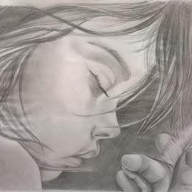 Dream.... May be :) by Sayantani Roy - Drawing All Drawing