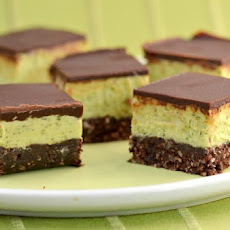 Raw Mint Nanaimo Bars