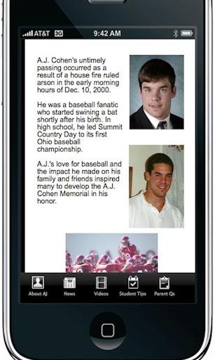 AJ Cohen Campus Safety App