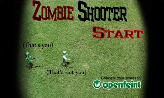 Screenshot of Zombie Shooter