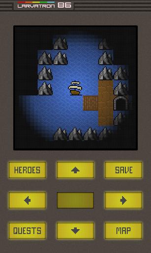Gurk III, the 8-bit RPG - screenshot