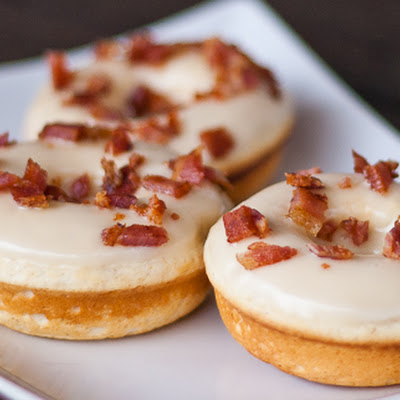 Maple Bacon Donuts a.k.a. The Elvis