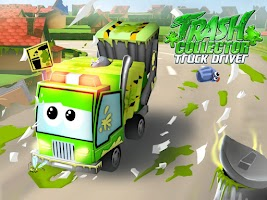 Screenshot of Trash Collector Truck Driver