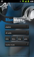 Screenshot of BlueMuze