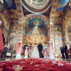 Religious Engagement by Marius Marcoci - Wedding Other ( church, wedding, bride and groom, ceremony, grooms )