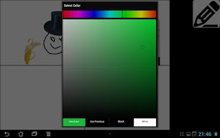 Screenshot of Comic Creator