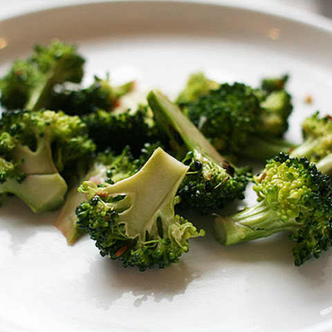 Garlicky-Sesame-Cured Broccoli Salad