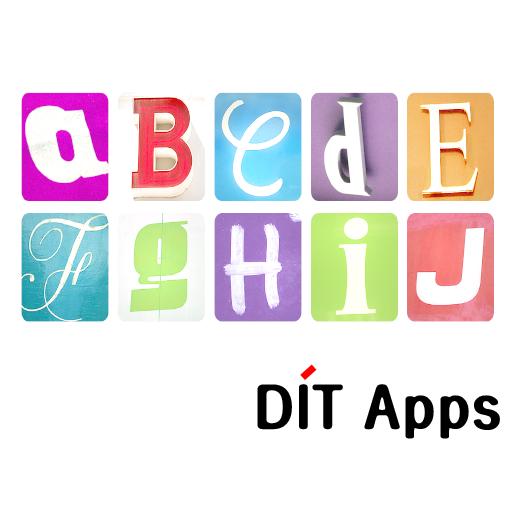DIT Apps 영어 앱 LOGO-APP點子