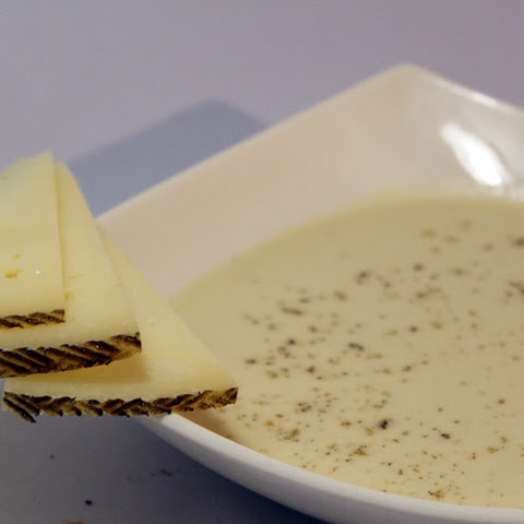 Manchego Cheese Cream