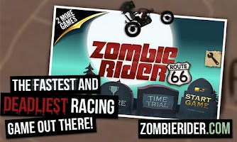Screenshot of Zombie Rider Free