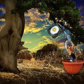 Parallel World by Eve Constantinescu - Digital Art People ( photomanipulation, nature, digital art, parallel world )