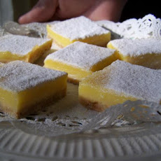 Very Lemon Extra Tangy Lemon Bars