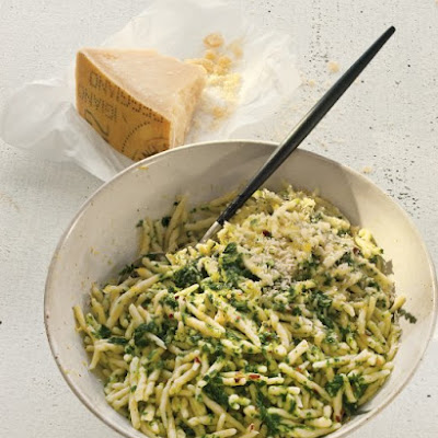 Lemon, Parsley, and Parmesan Plus Pasta