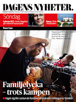 Screenshot of Dagens Nyheter