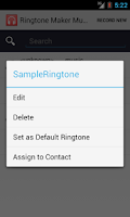 Screenshot of Ringtone Maker & Music Cutter