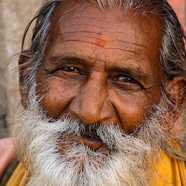The ascetic by Rakesh Syal - People Portraits of Men (  )