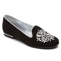 Step2wo Victoria - Embroidered Slip On SHOES