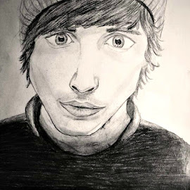 Oli Sykes by Lisa Lewis - Drawing All Drawing