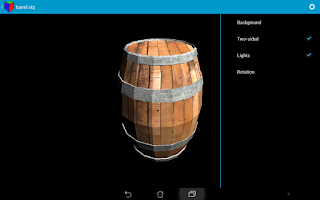 Screenshot of 3D Model Viewer