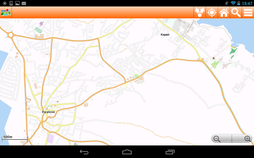 Cyprus Offline mappa Map - screenshot