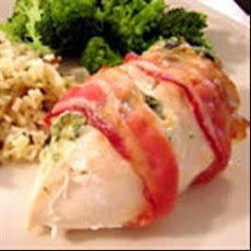 Stuffed and Wrapped Chicken Breast