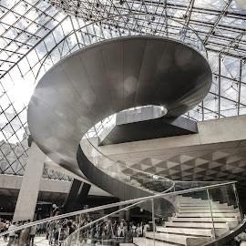 Louvre by Adrian Ivanciu - Buildings & Architecture Other Interior