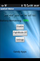 Screenshot of LastCall Maker(Trial)