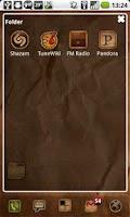 Screenshot of ADW Rustik Theme