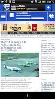 Screenshot of Canary Islands News and Radios