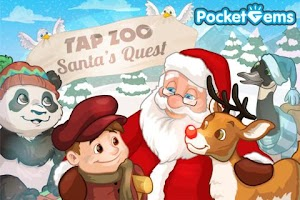 Screenshot of Tap Zoo: Santa's Quest