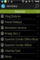 Screenshot of Virtual Secretary
