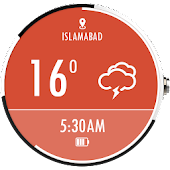 Download Sky Weather Watch Face -Free APK on PC