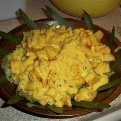 Cajun Pineapple Salad