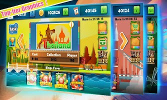 Screenshot of Bingo Fever - World Trip