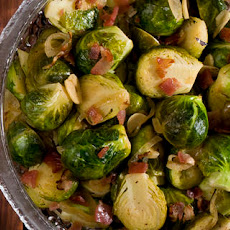 Braised Brussels Sprouts
