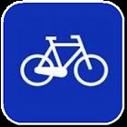Bike navigator icon