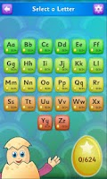 Screenshot of Eggy Alphabet
