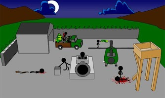 Screenshot of Stickman Creative Murder
