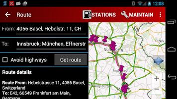 Screenshot of Cng/Lpg Finder EUR & US