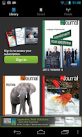 Screenshot of ISACA Journal