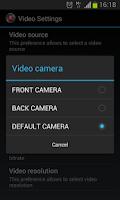 Screenshot of Secret Video Recorder Free