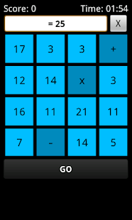 MathZia (math game) - screenshot